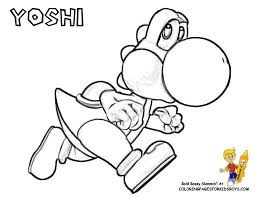 Mario Bros Coloring Super Mario Bros Free Coloring Pages Kids