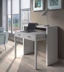 riley white gloss desk dressing table