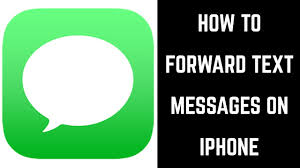 How To Forward A Text Message On Iphone