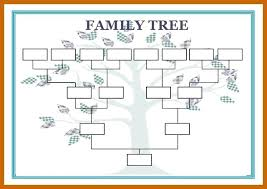 Family Tree Templates Microsoft Family Genogram Template Word Thaimail Co