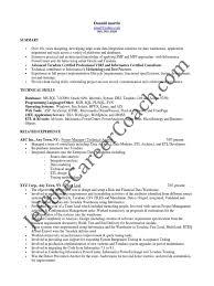 Informatica Administration Sample Resume 22 Format Of Resume Pdf
