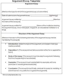 argumentative essay examples essay outline templates view larger gallery for argumentative essay structure