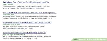 Electronic Invitation Cards Image Titled Make Event E Invites Step 2