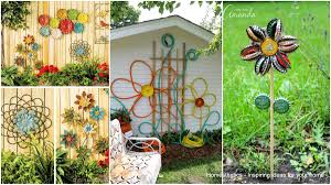 Diy Garden Projects Simple Low Budget Diy Garden Art Flower Yard Projects To Do