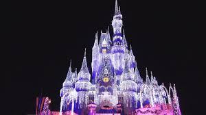Castle Christmas Lights Cinderella Castle Christmas Lighting Dream Lights Holiday Wish Show Pandavision