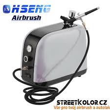 Airbrush Sada Kompresor A Airbrush Hs 30 Pro Použití Kdekoliv
