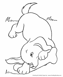 Small Picture Coloring Pages Of Dogs Coloring Book of Coloring Page