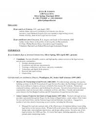 Law School Resume Examples Law School Resume Examples How To Craft Application That Gets You 20