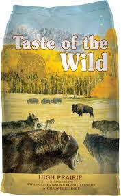 Taste Of The Wild High Prairie Grain Free Dry Dog Food 5 Lb Bag