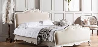 Captivating Chalk Linen Upholstered Bed By French Bedroom Company