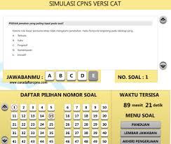 Dilengkapi juga dengan media simulasi digital computer assisted test (cat) untuk melatih kemampuan menjawab soal ujian cpns yang pernah keluar pada. Gratis Download Aplikasi Latihan Soal Tes Cpns Sistem Cat Scan