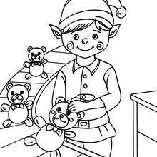 Santas Helpers Coloring Pages 48 Printables To Color Online For
