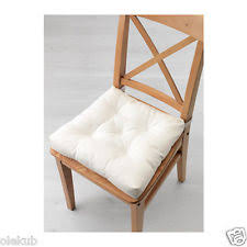 kitchen chair cusions. Ikea Malinda Chair Cushion White Indoor Outdoor Kitchen Seat Pad 703.081.00 Cusions T