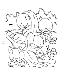 A Imprimer Chat 2 Coloriages De Chats Coloriages Enfants Biboon