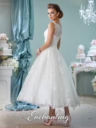 tea length wedding dress 116136 enchanting by mon cheri