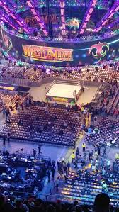 Wrestlemania Superdome Seating Chart Mercedes Benz Superdome Section 611 Row 34 Seat 9 10