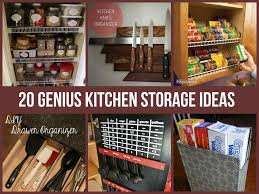 For Kitchen Organization Genius Kitchen Storage Ideas