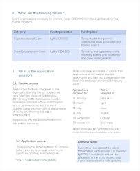 Sample Event Program Booklet Sporting Event Program Template Resume ...