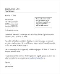 Personal Reference Letter For A Job Employment Template