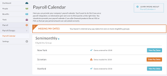 If You Get Paid Semi Monthly Set Up Your Payroll Calendar Support