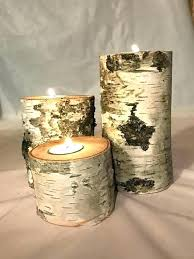 wood candle holders diy birch tree candle holders wood holder white candles wedding centerpiece tr diy wood candle holders diy