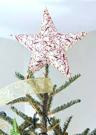 tree topper bow ideas modern diy homemade toppers glittered