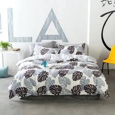 palm leaf bedding banana leaf bedding banana leaf bedding set sheet pillowcase and duvet cover sets
