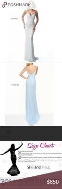 Sherri Hill Size Chart Sherri Hill 50860 Sparkling Long Beaded Gown Never Worn But