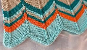 Chevron Knitting Pattern