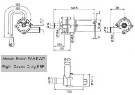 coolant modifications ewp bosch and cd ewps jpg 62119 bytes