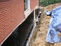 Foundation Station Jeannette PA Waterproofing - Exterior drain pipe