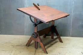wooden drawing table wooden drawing table oak and cast iron adjule drafting table and oak angle wooden drawing table