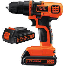 black and decker 12v lithium drill. black+decker ldx120c-2wm 20-volt lithium ion compact cordless drill with 2 black and decker 12v i