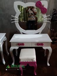 hello kitty furniture. Meja Rias Anak Hello Kitty Furniture
