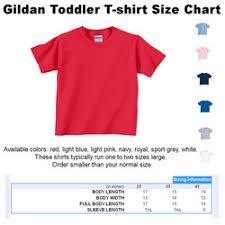 Toddler T Shirt Size Chart Youth Clothes Size Chart Youth