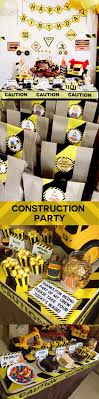 Construction Birthday Party Decorations 17 Best Ideas About Construction Party Favors On Pinterest