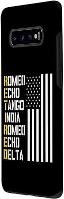 All of coupon codes are verified and tested today! Amazon Com Galaxy S10 Military Police Pilot Retirement Gift Phonetic Alphabet Case