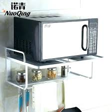 microwave oven wall mount microwave oven shelf bracket microwave oven wall mount kitchen shelving space aluminum microwave rack wall mounted microwave oven