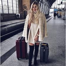 coat ts faux fur faux fur coat winter outfits winter coat white white coat blogger streetstyle