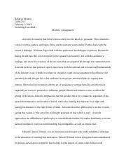 persuasion defined essay persuasion defined essay persuasion to  most popular documents for com 231