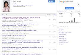 Google Scholar Profile Measuring Academic Output Utep Library