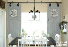 barn door window sliding barn door window treatment diy barn door window shutters