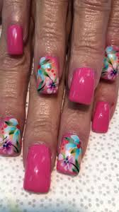 Nail Designs : Tropical Gel Nail Designs The Fresh and Fun ...