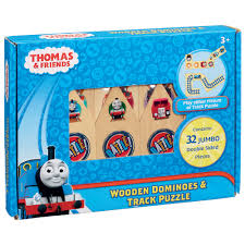 thomas friends wooden dominoes track puzzle