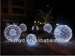 homey ideas outdoor ball lights tree for trees 6