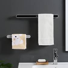 self adhesive towel holder rack