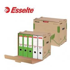 File holder box Stand Esselte Containers For Archival Storage Boxes 427 343 305mm Casabella Imports Ltd Lever Arch Files Box Files Storage Boxes Casabella Imports Ltd