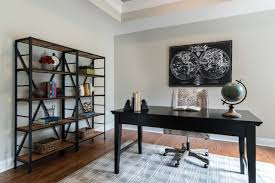 office staging.  Staging Builderu0027s Vacant Spec House Staging Transitionalhomeoffice Intended Office E