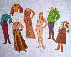 Image result for ann oakley paper doll