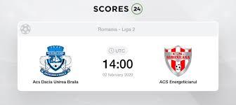 About the match bucovina radauti vs dacia unirea braila live score (and video online live stream) starts on 2021/05/08 at 15:00:00 utc time in romanian liga iii. Dacia Unirea Braila Vs Acs Energeticianul Head To Head For 10 April 2019